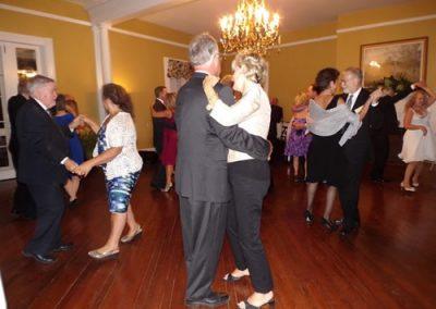 Everyone enjoyed dancing in the Clamont Ballroom