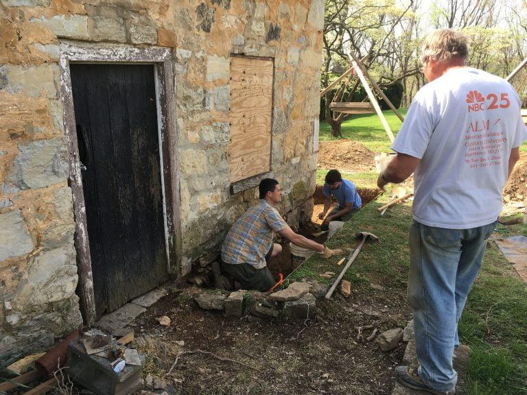 Archeology at Happy Retreat's Summer Kitchen/Smokehouse