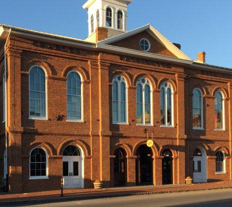 Newly Renovated Charles Washington Hall, Fall, 2017