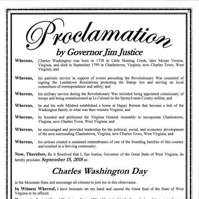 Charles Washington Day