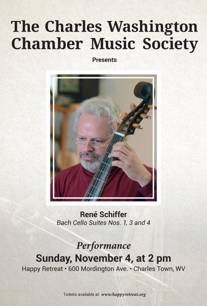 René Schiffer – Bach Cello Suites Nos. 1, 3 and 4