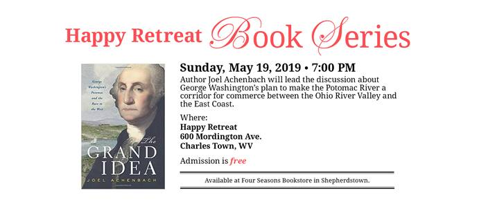 Happy Retreat Book Series with Author Joel Achenbach