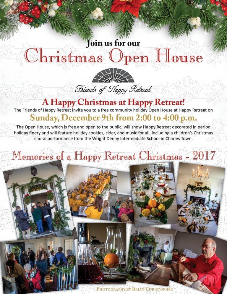 2018 Christmas Open House