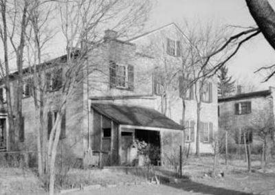 Rear of Happy Retreat 1945