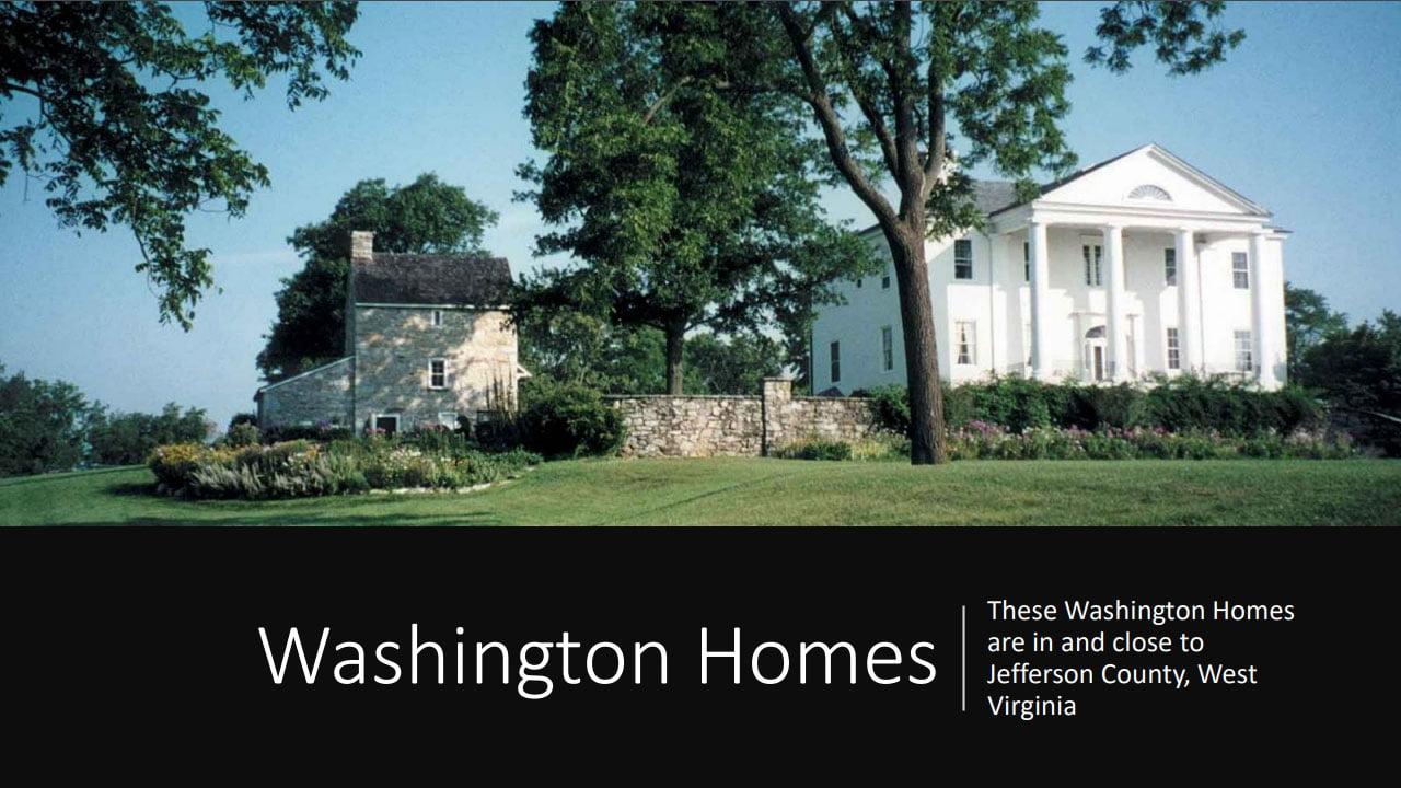 Washington homes presentation