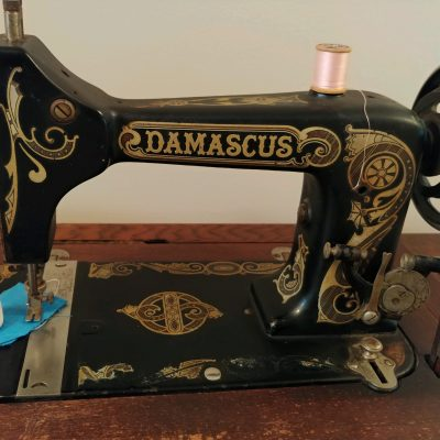Historic Sewing Machine Donated to Happy Retreat