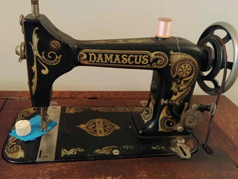 Historic Sewing Machine Donated to Happy Retreat