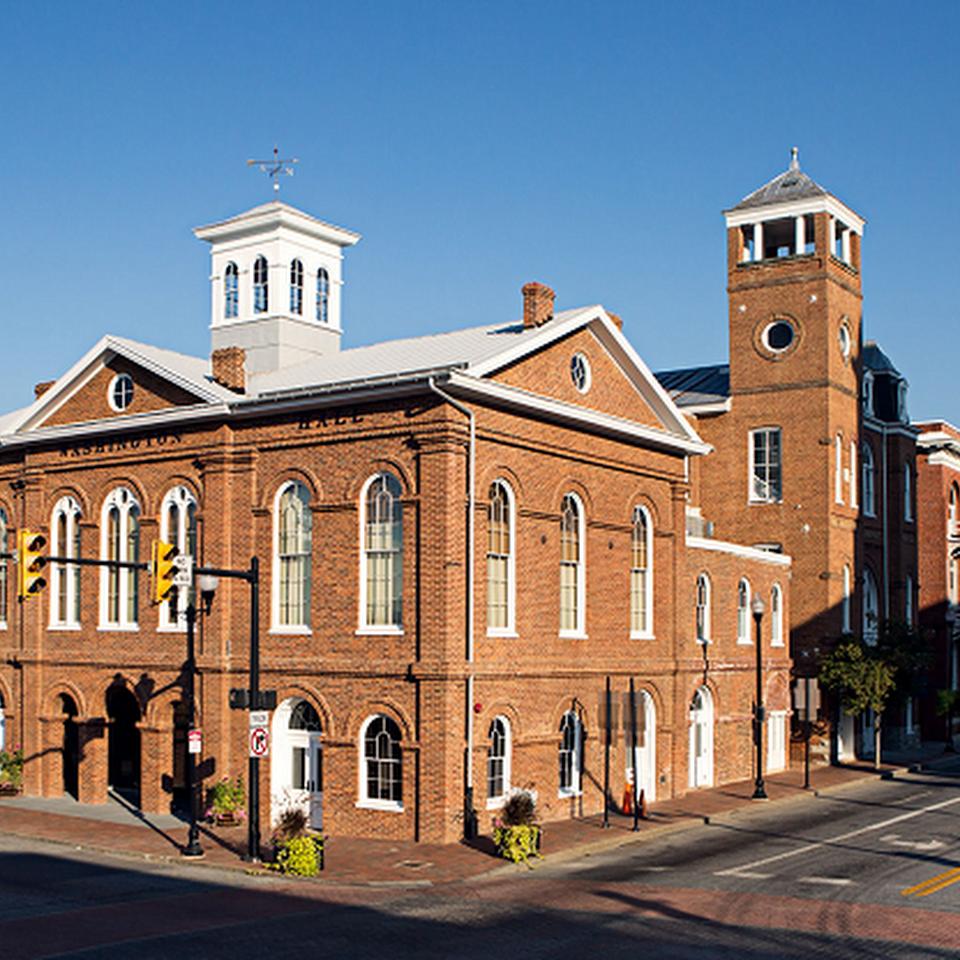 Charles Washington Hall
