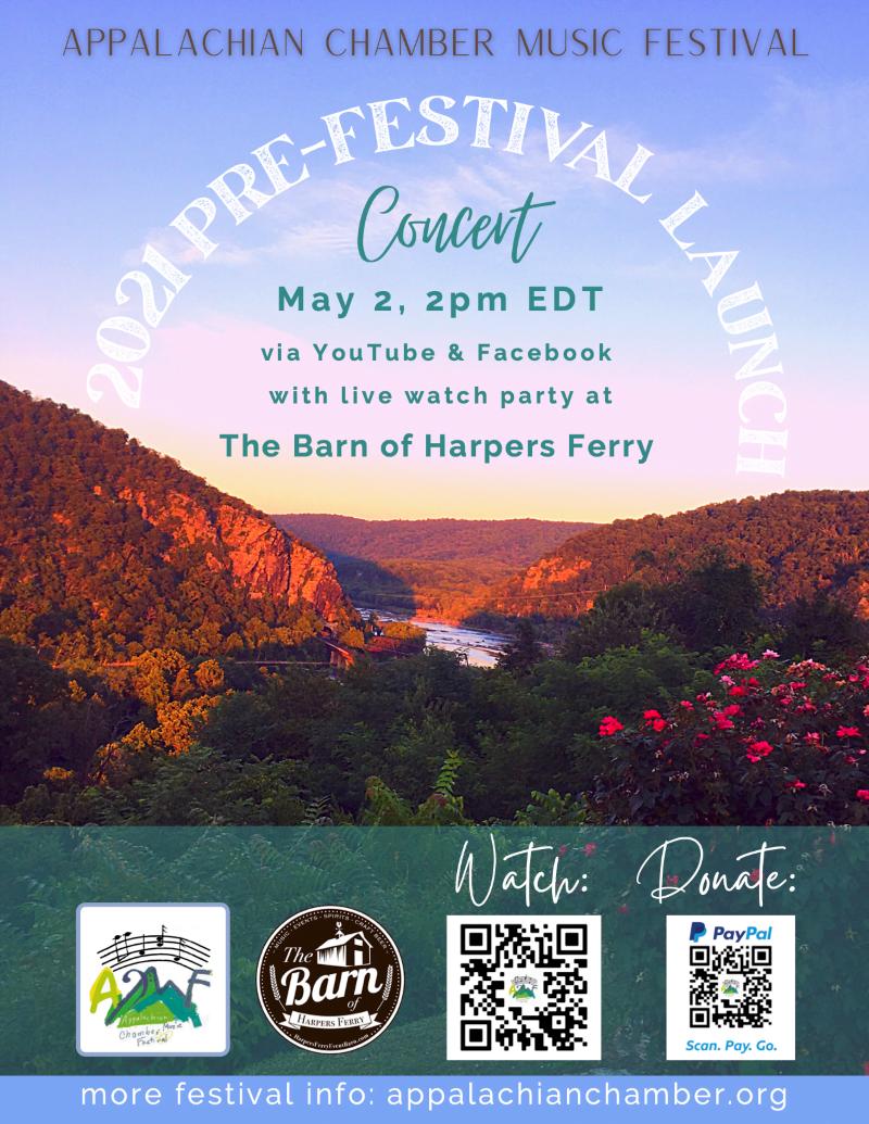 Appalachian Chamber Music Festival Pre-Launch Event